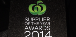 PackIT Client: Woolworths agricultural supplier of the year 2014!